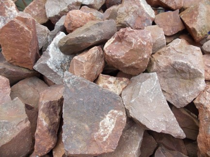 Red Limestone Rockery